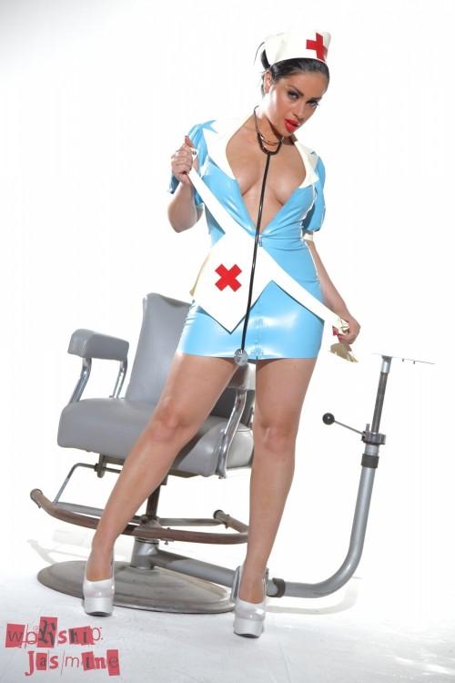 Jasmine Jones - Latex Nurse Jasmine - Picture 7