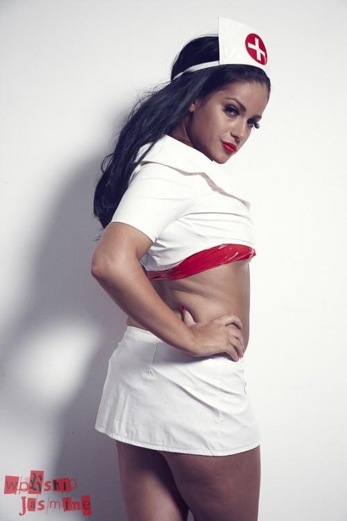 Jasmine Jones - Bondage Tape Nurse - Picture 5